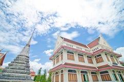 泰国寺庙结构 库存照片
