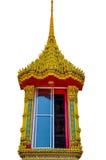 泰国寺庙视窗  免版税库存照片