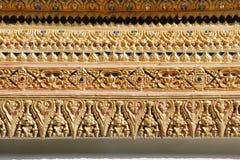 泰国寺庙雕象  库存照片