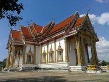 泰国寺庙,著名寺庙从彭世洛,泰国的Wat Chulamanee 免版税库存照片