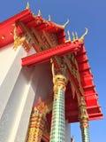 泰国寺庙, TRAT,泰国 免版税库存照片