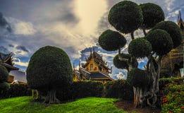 泰国寺庙, Wat禁令小室 免版税图库摄影