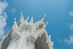 泰国寺庙建筑学 库存照片