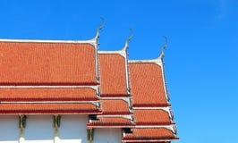 泰国寺庙建筑学  免版税图库摄影