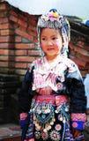 泰国小女孩 免版税库存照片