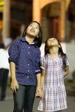 泰国小女孩 免版税库存图片