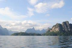 泰国小岛- jungle3 免版税库存照片