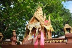 泰国小的寺庙 库存图片