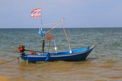 泰国小船的捕鱼 库存图片