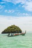 泰国小船的longtail 免版税库存图片