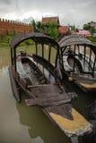 泰国小船的longtail 库存图片