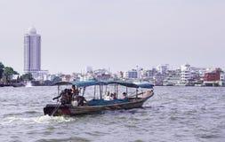 泰国小船的longtail 库存照片