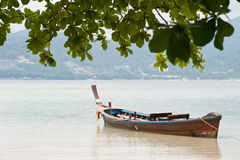 泰国小船 库存图片