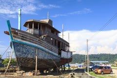 泰国小船 免版税图库摄影