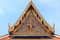 泰国屋顶的寺庙 库存图片