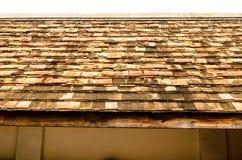泰国屋顶的寺庙 免版税库存照片