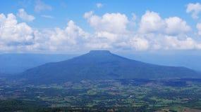 泰国山的风景 免版税库存照片