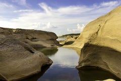 泰国峡谷 图库摄影