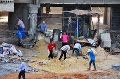 泰国工作者 库存图片