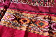 泰国工艺品和传统衣物 免版税库存图片