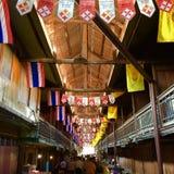 100年泰国市场 库存图片