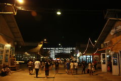 泰国市场 库存照片