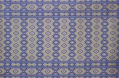 泰国布料的纹理 免版税库存照片
