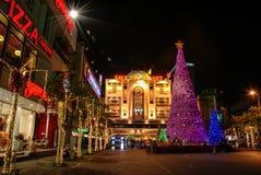泰国广场,曼谷,泰国 图库摄影