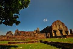 泰国废墟 免版税图库摄影