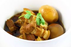 泰国惊人的食物 免版税库存图片