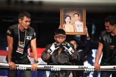 泰国战斗2012年,最终舍入 库存图片