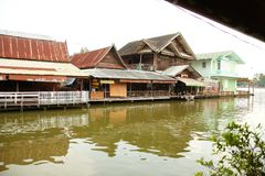 泰国房子场面 图库摄影