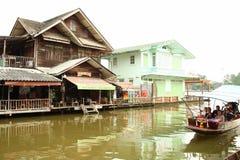 泰国房子场面 免版税库存图片