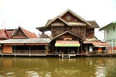 泰国房子场面 库存图片