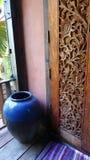 泰国房子装饰 图库摄影