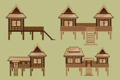 泰国房子设计 库存照片