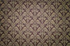 泰国手工制造织品的样式 免版税库存照片