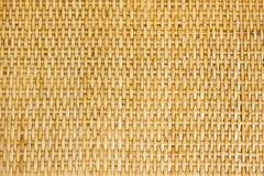 泰国手工造竹织法样式 免版税库存图片
