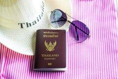泰国护照 免版税库存照片