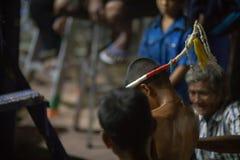 泰国拳击手节日 免版税库存照片