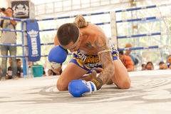 泰国拳击 图库摄影