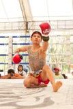 泰国拳击 免版税图库摄影