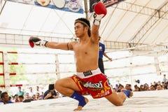 泰国拳击 免版税库存图片