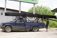 泰国拾起卡车 免版税库存照片