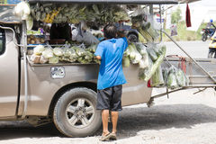 泰国拾起食物店 图库摄影