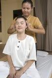 泰国按摩的温泉 免版税库存照片