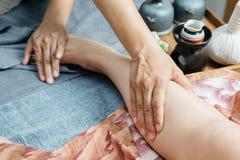 泰国按摩系列 免版税库存图片