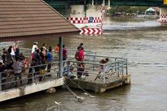 泰国捕鱼的人 免版税库存图片