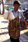 泰国摊贩 免版税库存图片