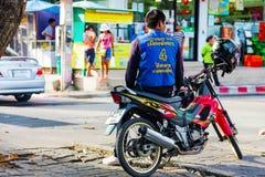 泰国摩托车出租汽车 库存照片